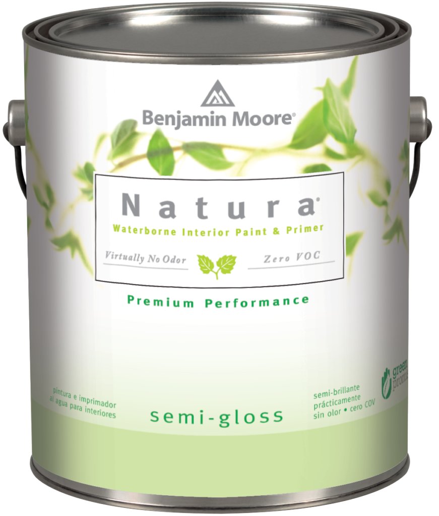 Natura® Waterborne Interior Semi-Gloss Finish (514)